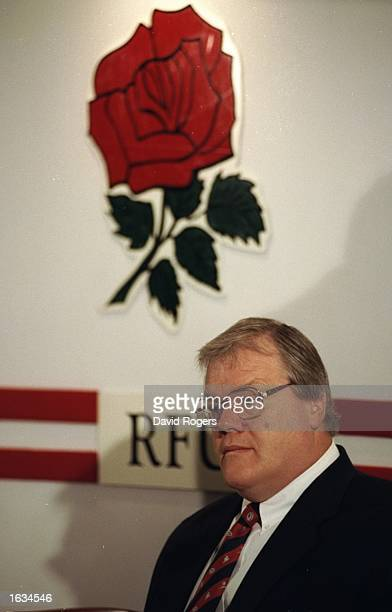 Portrait of Fran Cotton during the Club versus Country press conference at Twickenham in London Mandatory Credit David Rogers/Allsport