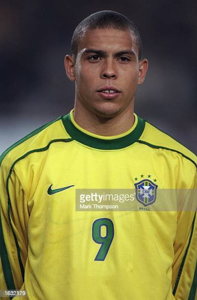 Portrait of Ronaldo of Brazil before the International friendly against Germany at the Neckarstadion in Stuttgart in Germany Brazil won 21 Mandatory...