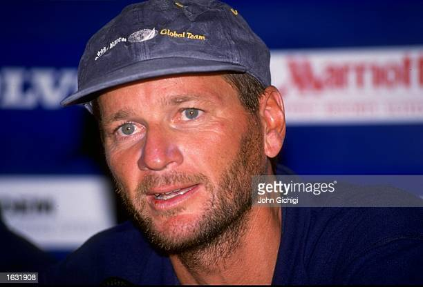 Portrait of Swedish Match skipper Gunnar Krantz at the end of Leg Six in the Whitbread Round the World Race for the Volvo Trophy at Fort Lauderdale...