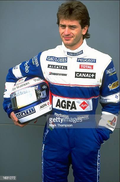 Prost driver Jarno Trulli of Italy in team colours before the Australian Grand Prix at Albert Park in Melbourne Australia Mandatory Credit Mark...
