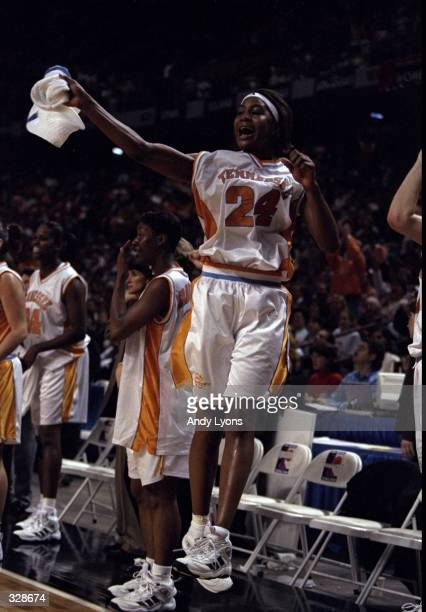 Tamika Catchings of the Tennessee Volunteers in action during a playoff game against the Louisiana Tech Bulldogs at the Kemper Arena in Kansas City...