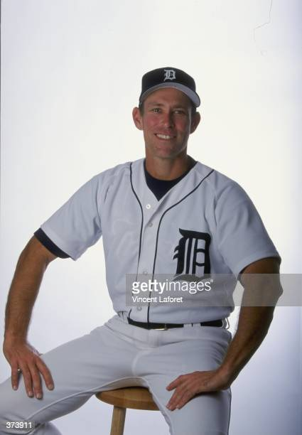 Coach Alan Trammell of the Detroit Tigers poses for a studio portrait on Photo Day during Spring Training at the Joker Merchant Stadium in Lakeland...