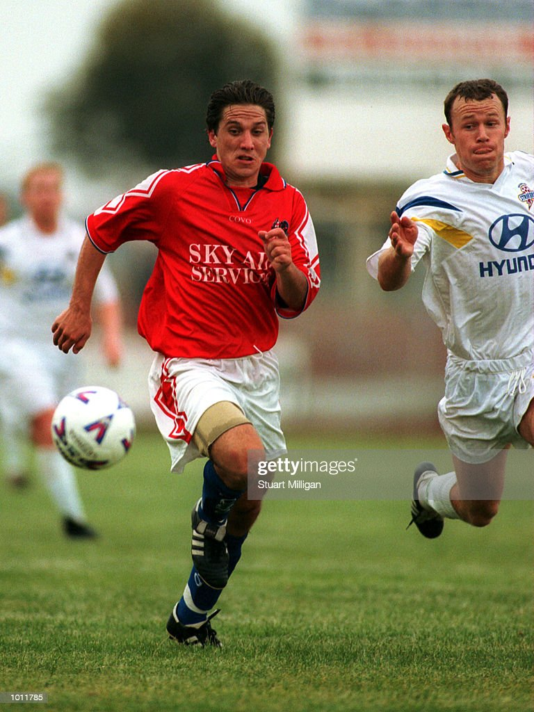 Mark Silic of Melbourne Knights in action during the match between Melbourne Knights v Brisbane Strikers at Melbourne Knights Stadium,Melbourne Australia. Mandatory Credit: Stuart Milligan/ALLSPORT