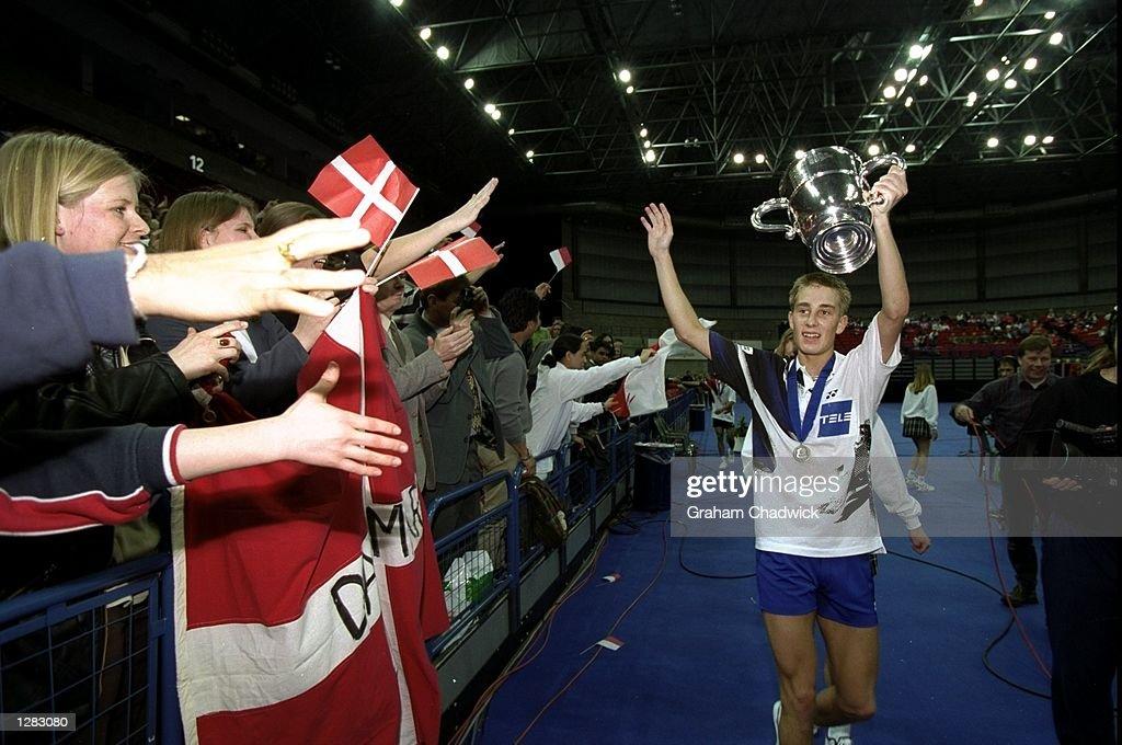 Yonex Badminton Peter Gade Christensen : News Photo