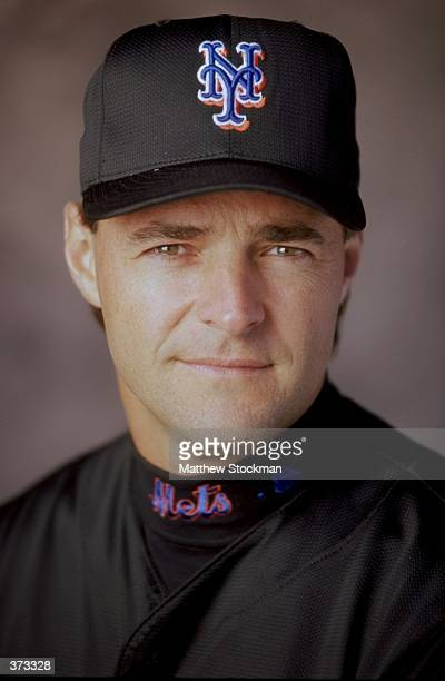 Pitcher Al Leiter of the New York Mets poses for a studio portrait on Photo Day during Spring Training at the Thomas J White Stadium in Port St Lucie...
