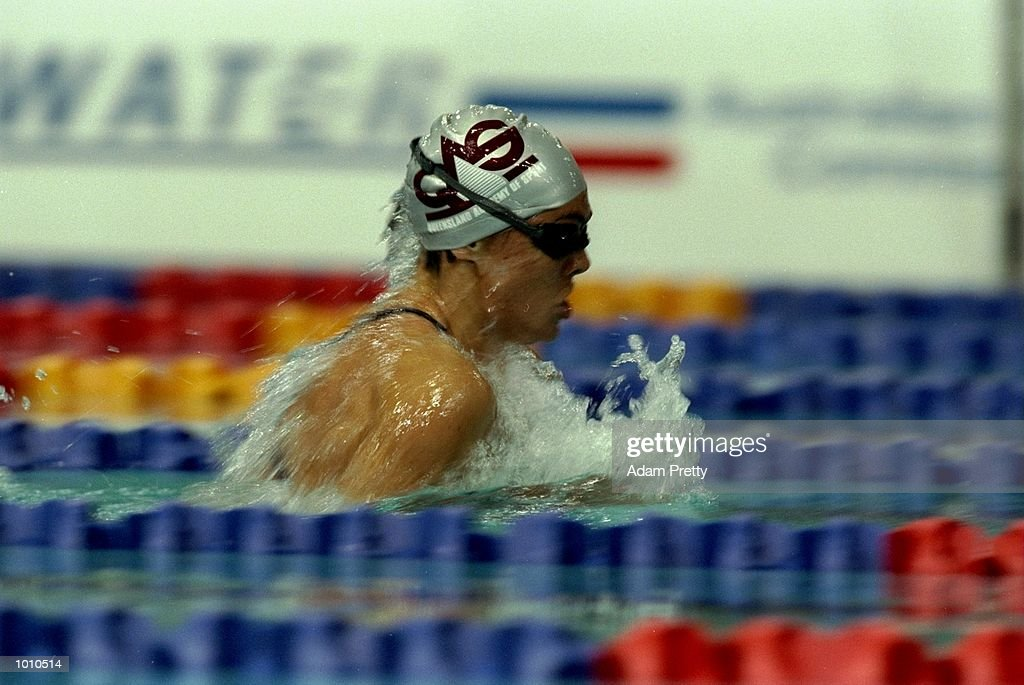 Sam Riley of Australia in action during the 1999 Australian Open Championships and Pan Pacific Selection Trials in Brisbane, Australia. \ Mandatory Credit: Adam Pretty /Allsport