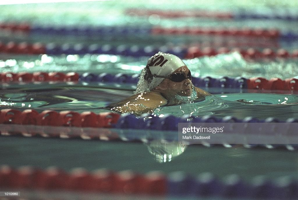 Samantha Riley of Australia in action during the 1999 Australian Open Championships and Pan Pacific Selection Trials at the Chandler Aquatic Centre, Brisbane, Australia. \ Mandatory Credit: Mark Dadswell /Allsport