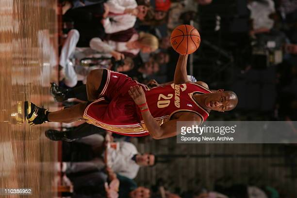 Mar 20 2007 Charlotte NC USA Cleveland Cavaliers ERIC SNOW against Charlotte Bobcats on March 20 at the Charlotte Bobcats Arena in Charlotte NC The...