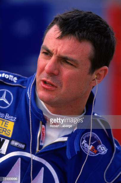 Driver Mark Blundell of Great Britain who drives the Mercedes Reynard 2KI for PacWest Racing looks on during the Marlboro Grand Prix of Miami...