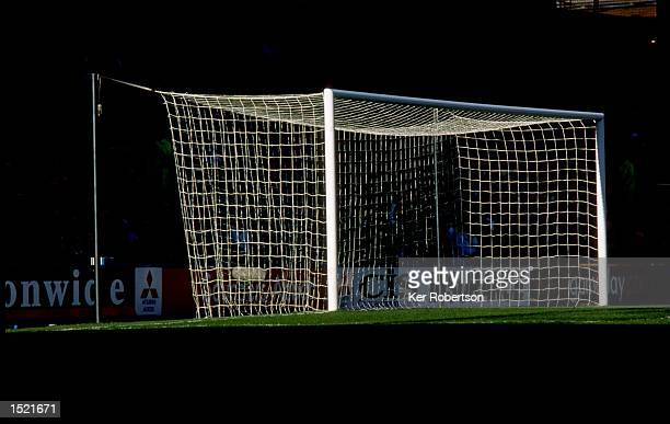 General view of the goalmouth during the Nationwide League Division One match between Crystal Palace and Manchester City at Selhurst Park in London...