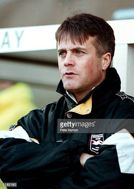 Portrait of Micky Adams the Brighton Hove Albion manager during the 1999/2000 season Mandatory Credit Peter Norton /Allsport