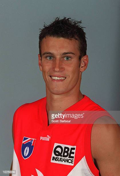 Ryan Fitzgerald for the Sydney Swans poses for a portrait headshot during the photo call at the Sydney Cricket Ground in Sydney, Australia. Mandatory...