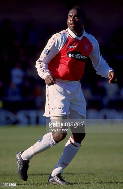 Vance Warner of Rotherham United during the Nationwide League Division three game between Torquay United and Rotherham United at Plainmoor in Torquay...