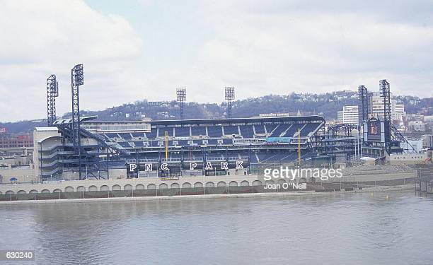 A general view of the PNC Park the new home to the Pittsburgh Pirates in Pittsburgh PennsylvaniaMandatory Credit Joan O''Neill /Allsport