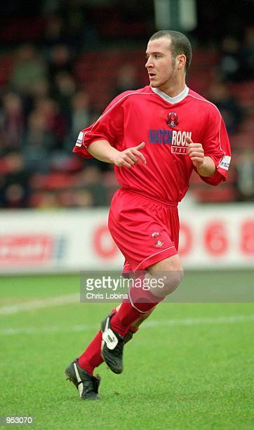 Billy Beall of Leyton Orient in action during the Nationwide League Division Three match against York City played at Brisbane Road in London The...