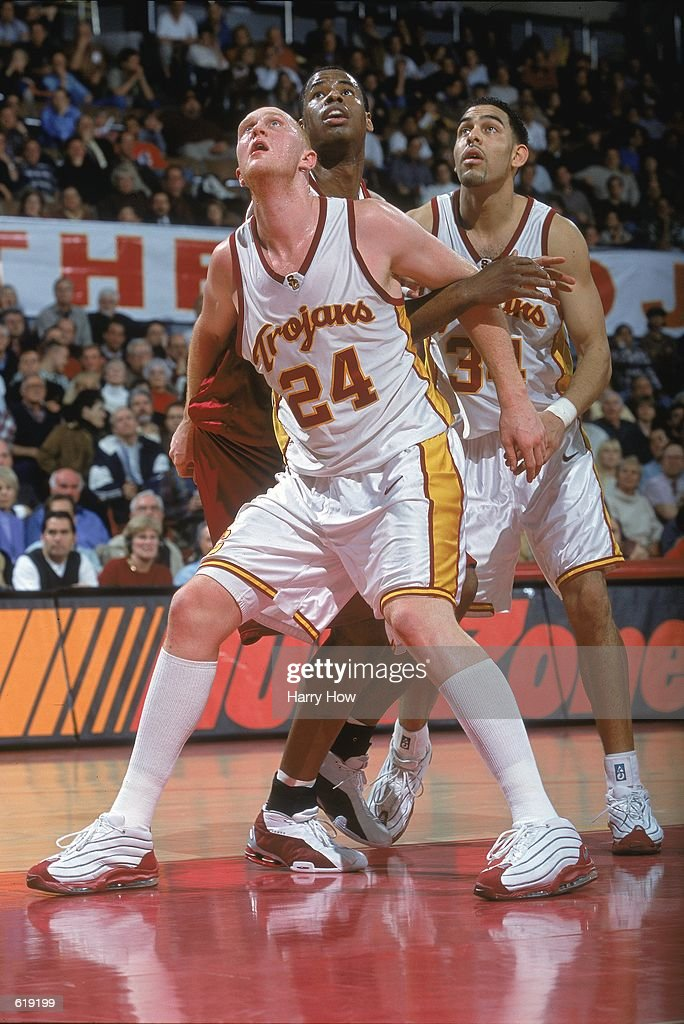 outlet store 08623 17223 Brian Scalabrine of the USC Trojans blocks Jarron Collins of ...