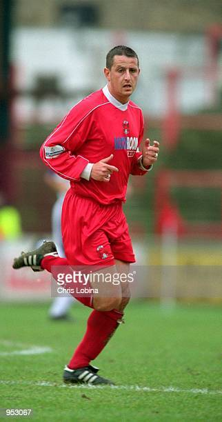 Carl Griffiths of Leyton Orient in action during the Nationwide League Division Three match against York City played at Brisbane Road in London The...