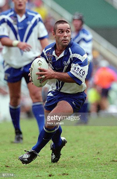 Craig PollaMounter of the Bulldogs in action during the round 6 NRL match between the Sydney Roosters and the Bulldogs at the Sydney Football Stadium...