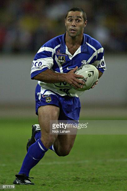 Craig PollaMounter of the Bulldogs in action during the round 7 NRL match between the Brisbane Broncos and the Bulldogs at the Sydney Showground...