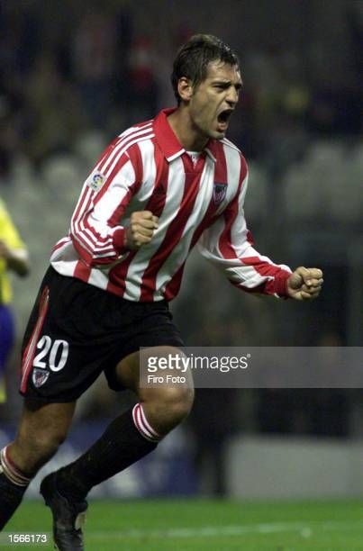 Ismael Urzaiz of Athletic Bilbao in action during the Primera Liga match between Athletic Bilbao and Villarreal San Mames SpainMandatory Credit Firo...