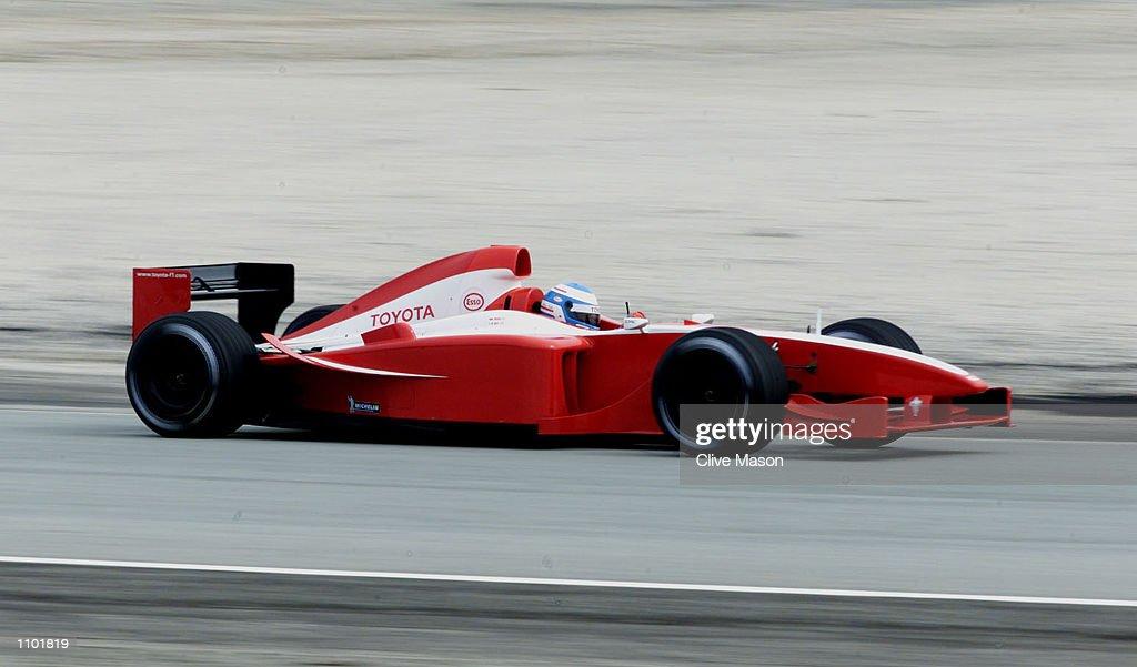 Toyota Testing : News Photo