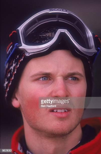 Portrait of John Moulder Brown of Great Britain during the British Land National Ski Championships in SaalbachHinterglemm Austria Mandatory Credit...