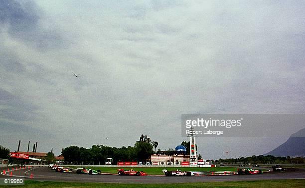 The start of the Tecate Telmex Monterrey Grand Prix round one of the CART FedEx Championship Series at Fundidora Park, Monterrey, Mexico. Mandatory...