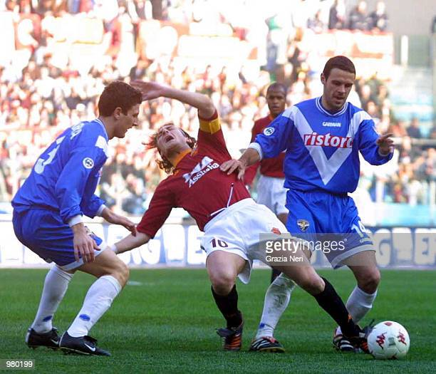 Vfrancesco Totti of Roma during a Serie A 22th Round League match between Roma and Brescia played at the Olympic stadium Rome Giampiero Sposito /...