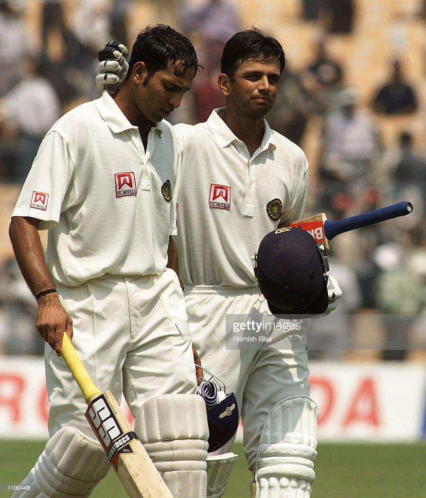 India v Aust X.jpg : News Photo