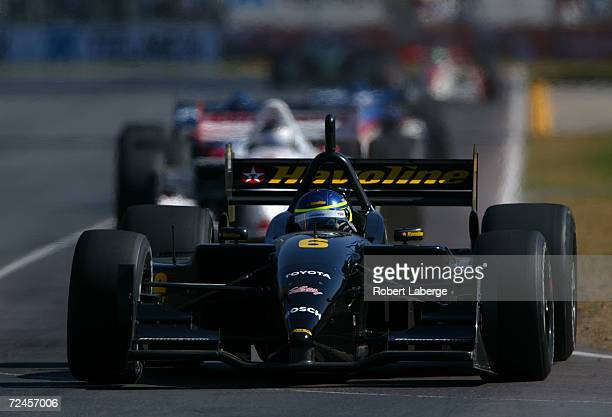 Cristiano da Matta driving the Newman Haas Racing Toyhota Lola during the Tecate Telmex Monterrey Grand Prix, round one of the C.A.R.T FedEx...