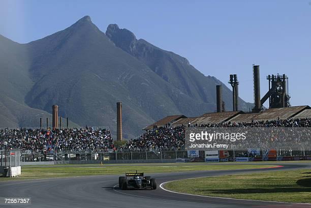 Cristiano da Matta driving the Newman Haas Racing Toyota Lola during the Tecate Telmex Grand Prix of Monterrey, round 1 of the CART FedEx...