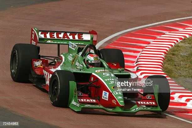 During the Tecate Telmex Grand Prix of Monterrey, round 1 of the CART FedEx Championship Series at Fundidora Park in Monterrey, Mexico. DIGITAL...