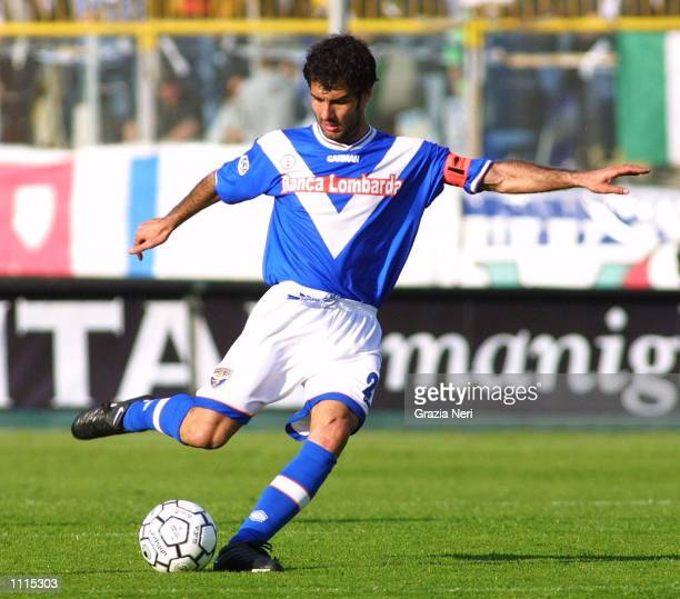 Josep Guardiola of Brescia in action during the Serie A match between Brescia and Perugia played at the Mario Rigamonti Stadium Brescia DIGITAL IMAGE...