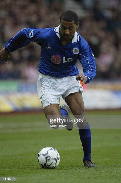 Matthew Piper of Leicester City runs with the ball during the FA Barclaycard Premiership match between Southampton and Leicester City played at the...