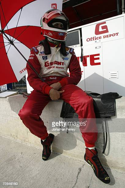 Michel Jourdain driver of the Team Rahal Ford Lola during practice for the Tecate Telmex Grand Prix of Monterrey, round 1 of the CART FedEx...