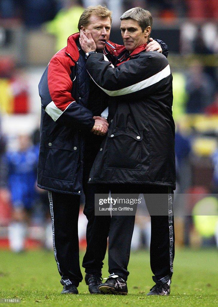 Steve McClaren, Steve Harrison : News Photo