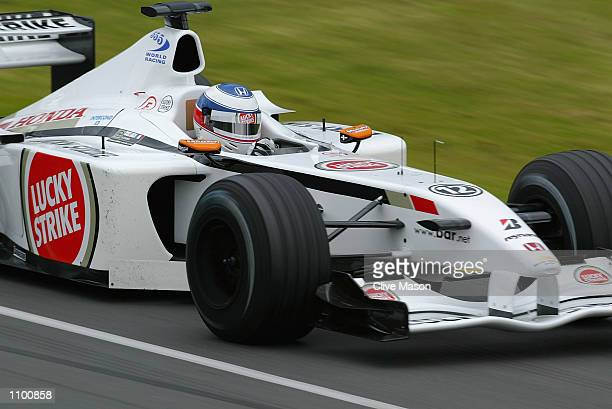 Olivier Panis of France and the BAR Formula Team in action during the practice session for the 2002 Fosters Australian Grand Prix at the Albert Park...