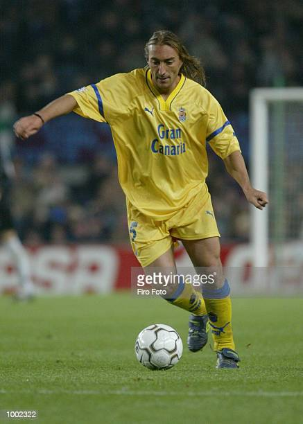 Paqui of Las Palmas in action during the Primera Liga match between Barcelona and Las Palmas played at the Camp Nou Stadium Barcelona DIGITAL IMAGE...