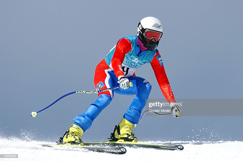 Paralympics Super-G X Casanova : News Photo