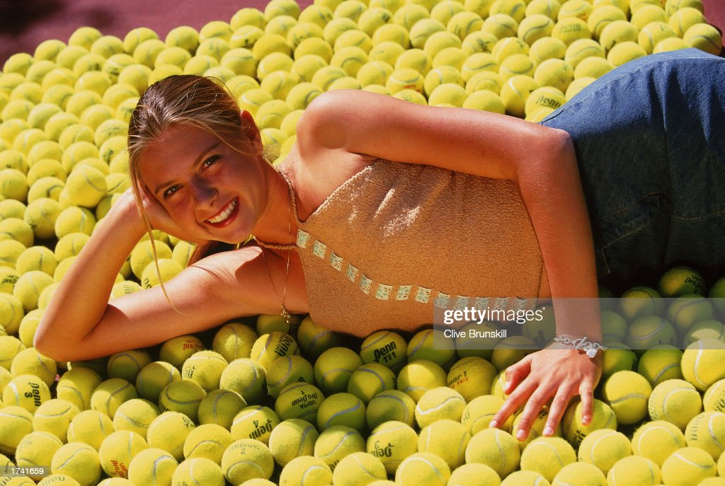 Portrait of Tennis Player Maria Sharapova of Russia during a feature in Indian Wells, California, USA. Mandatory Credit: Clive Brunskill/Getty Images