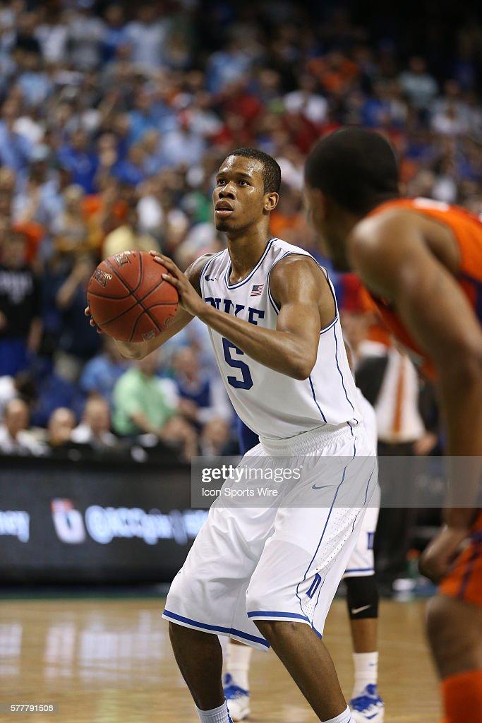Ncaa Basketball Mar 14 Acc Basketball Tournament Duke V Clemson