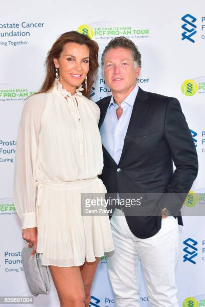 Mar Flores and Elias Sacal attend 13th Annual Prostate Cancer Foundation's Gala in the Hamptons with a Special Performance by Kool & The Gang at...