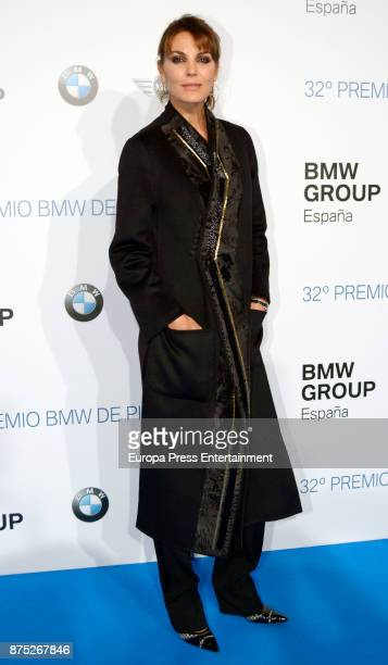 Mar Flores attends the 32nd edition of BMW Painting Award at the Royal Theatre on November 16 2017 in Madrid Spain