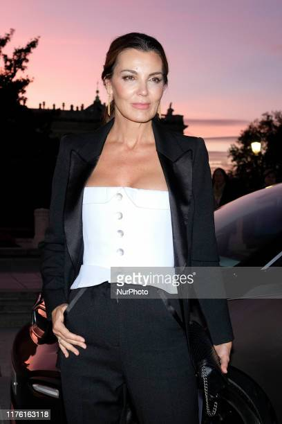 Mar Flores attends the 34th edition of the delivery of the BMW paint awards in Teatro Real of Madrid, Spain, on October 15, 2019.