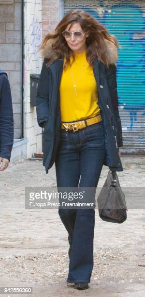 Mar Flores is seen on March 6 2018 in Madrid Spain