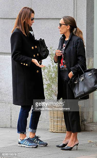 Mar Flores is seen on November 18 2016 in Madrid Spain