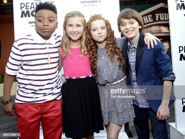 "Premiere Of 20th Century Fox's ""The Peanuts Movie"" Photos"
