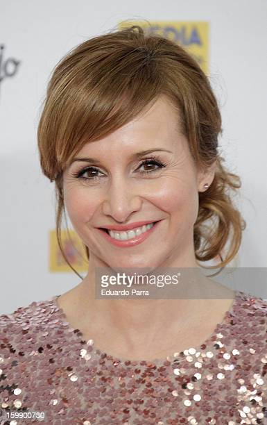 Mar Regueras attends Jose Maria Forque awards photocall at Canal theatre on January 22 2013 in Madrid Spain