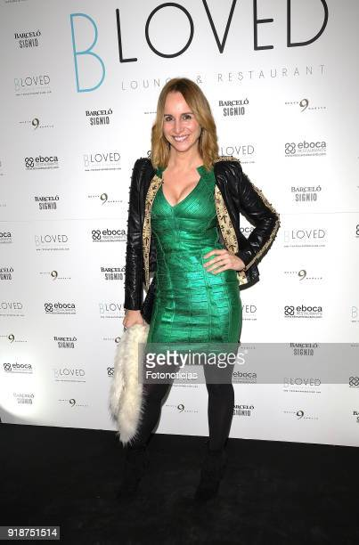 Mar Regueras attends the 'BLoved' restaurant opening party photocall at the Catalonia Hotel on February 15 2018 in Madrid Spain