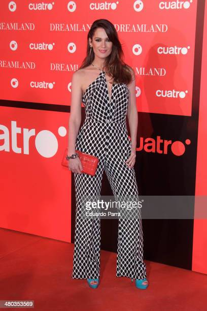 Mar Saura attends 'Dreamland' premiere photocall at Joy Eslava disco on March 24 2014 in Madrid Spain